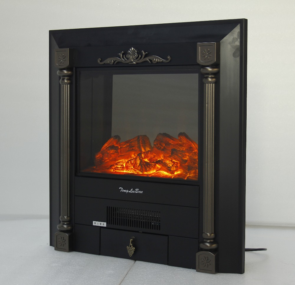 electric fireplace burner hearth