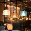Simples e Moderno Personalidade Criativa Lustre Restaurante Café Bar Decorativo Colorido Lustre De Vidro Frete Grátis