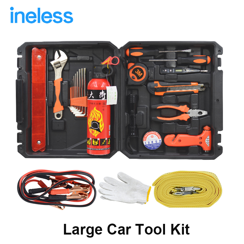 23pc mechanics tool set set car repair tool sets socket wrenches screwdrivers. Black Bedroom Furniture Sets. Home Design Ideas