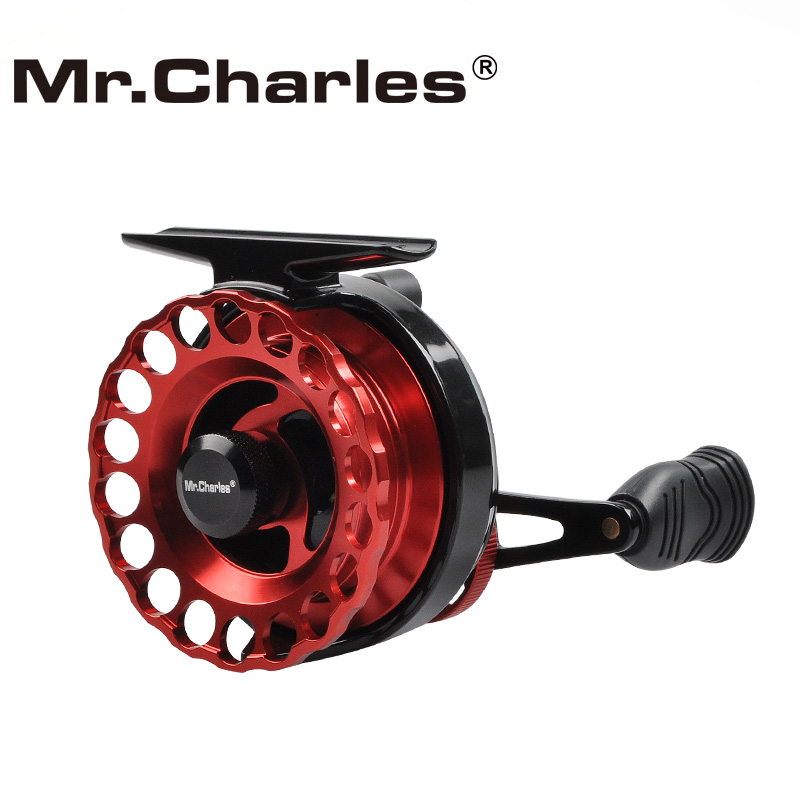 MrCharles Nya NND-LS65 Gearkvot 3,6: 1 Aluminium Front-End Fiske Vänster / Höger Hand Fly Fishing Reel Raft Ice Fishing Reel