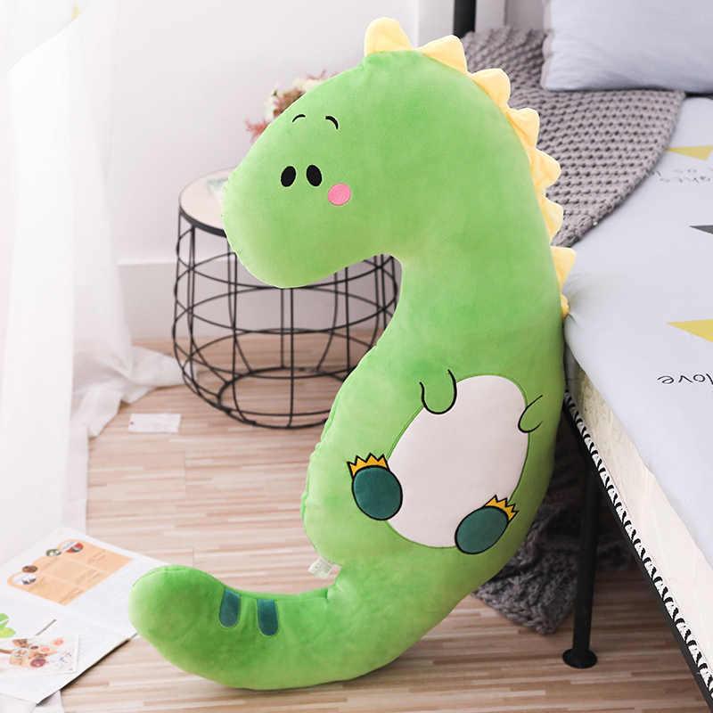 Animal Grande Travesseiro e Dormir das crianças dinossauro Unicórnio de pelúcia brinquedo Macio Recheado Almofada porco Boneca de Presente