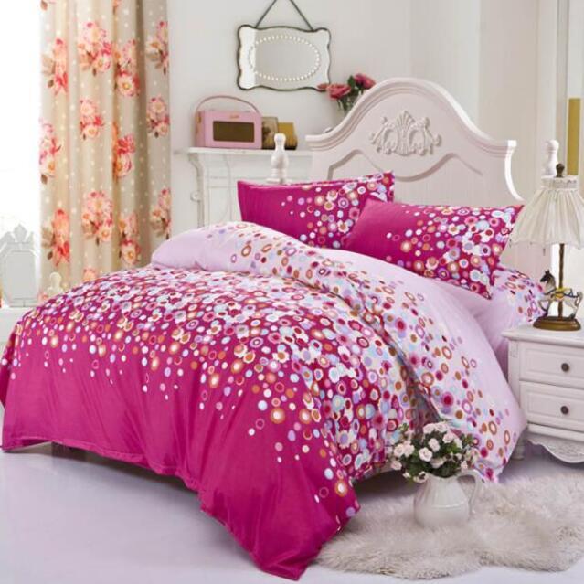 2017 3 4pcs bedding set king size bedding set bed sheets duvet cover bedclothes pillow quilt. Black Bedroom Furniture Sets. Home Design Ideas