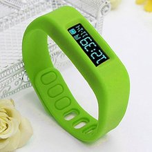 YCYS Bluetooth 4 0 Smart Wrist Watch font b Health b font Sport Sleep Tracking Green