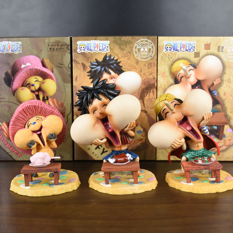Anime ONE PIECE Tony Chopper PVC Figures Collections Toy Kids Gift with Box