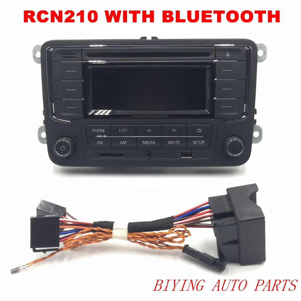 AIDUAUTO RCN210 Plus Bluetooth MP3 USB Player CD MP3 Radio Use for Golf 5 6 Jetta