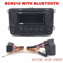 AIDUAUTO RCN210 Plus Bluetooth MP3 USB Player CD Radio Use for Golf 5 6 Jetta Mk5 MK6 Passat B6 CC B7
