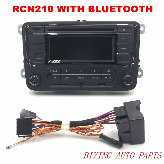 AIDUAUTO RCN210 Plus Bluetooth MP3 USB Player CD MP3 Radio Use for Golf 5 6 Jetta Mk5 MK6 Passat B6 CC B7