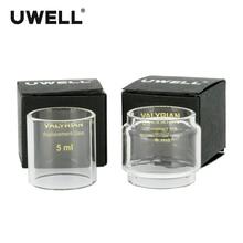 UWELL VALYRIAN Pyrex 5 ml/8 ml para VALYRIAN tanque atomizador reemplazo parte cigarrillo electrónico vidrio puro tubo