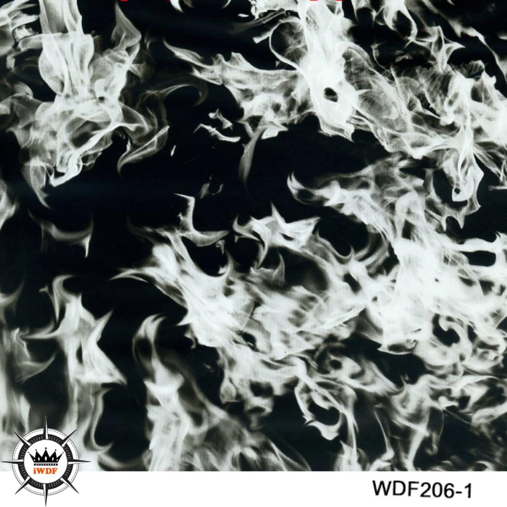 WDF206-1 Decoratief materiaal 10 vierkante breedte 1m vlam - Motoraccessoires en onderdelen
