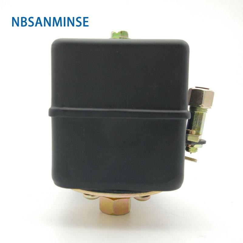 Nbsanminse Smf 17  1/4 3/8 Npt Thread Air Compressor Pressure Switch 8 10bar 8 12bar 9 12.5bar 13 16bar