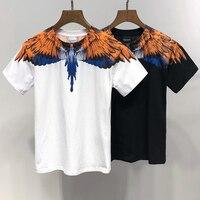 County of Milan Marcelo Burlon T Shirt 2019 New MB Cotton Tshirt Men Women Hip Hop Street Marcelo Burlon T shirt Justin Bieber