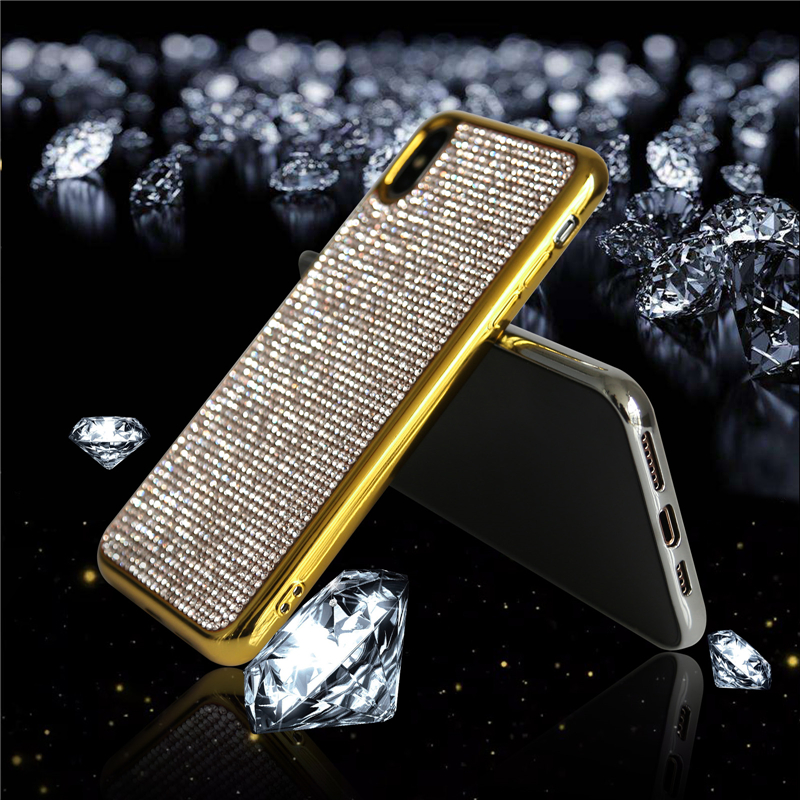 Accessory - Diamond Plating Case for iPhone