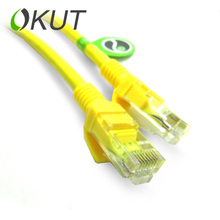 OKUT  Flat Ethernet Cable CAT 6 RJ45 Network Ethernet Patch Cord Lan Cable Laptop Cable for Compute ethernet cable