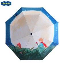 [CHICCHIC] Abbildung Der Kleine Prinz Hohe Qualität Falten Anti-UV Sun/Regen Regenschirm Regen Hohe Dichte wasserdichte ZH0250