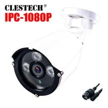 Xmeye FULL HD 1080P IP Camera Poe48v 2MP CCTV Security Surveillance ONVIF p2p Cloud Motion Detection 3led array Waterproof ip66 цена 2017