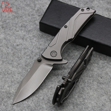 Dcbear Top Quality Tactical Knives 57HRC Hunting Survival Knives 7CR17MOV Blade Best Folding Knives Camping EDC Tools