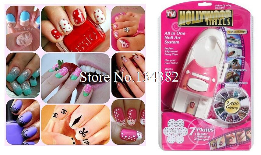 New Fashion Hollywood Nails All in One Nail Art System,nail art tool ...