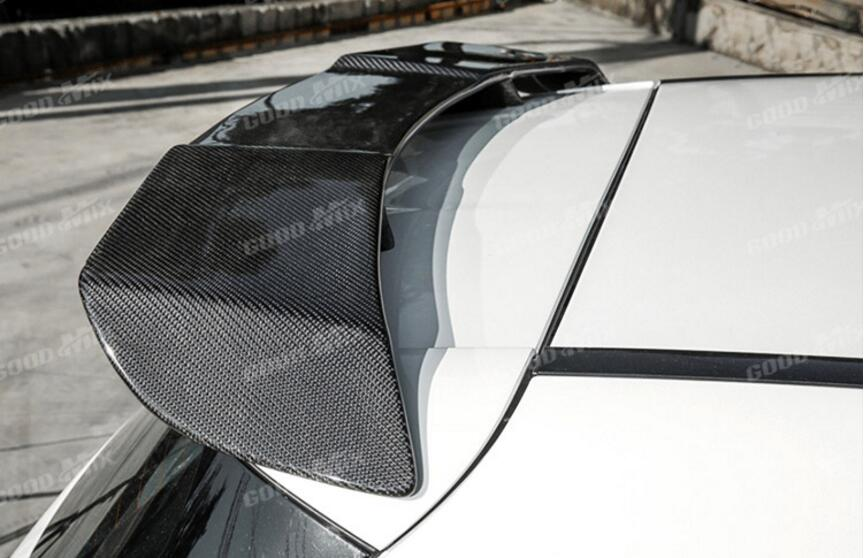 JINGHANG Carbon Fiber Car <font><b>Rear</b></font> Wing Trunk Lip <font><b>Spoilers</b></font> For Benz <font><b>A</b></font> <font><b>Class</b></font> <font><b>W176</b></font> A160 A180 A200 A45 2012-2017 image