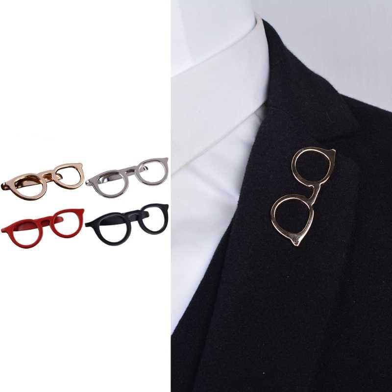 الرجال النظارات التعادل القضبان دبوس المشبك ل بدلة عمل الزفاف التعادل هدية اكسسوارات