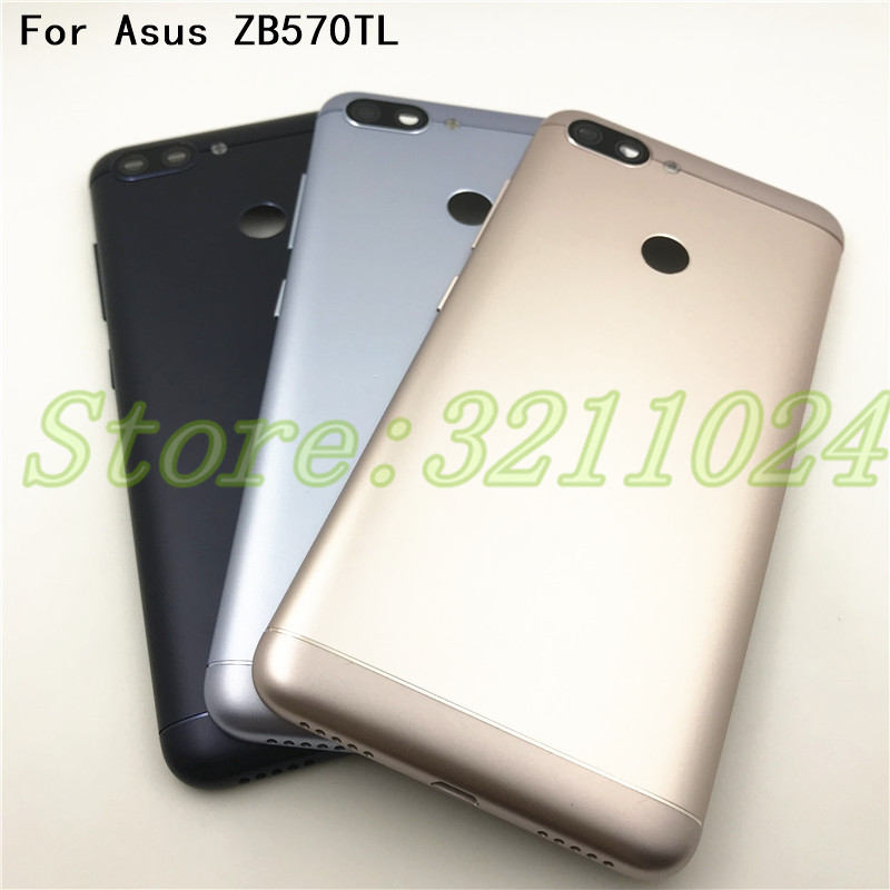5Pcs Good quality 5.7 inches For Asus Zenfone Max Plus ZB570TL Battery Cover Case Back Door Back Housing with side buttons +Logo5Pcs Good quality 5.7 inches For Asus Zenfone Max Plus ZB570TL Battery Cover Case Back Door Back Housing with side buttons +Logo