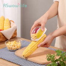 Household Manual Corn Separator Creative Thresher Kitchen Gadgets Splitter For Fruit And Vegetable Tools