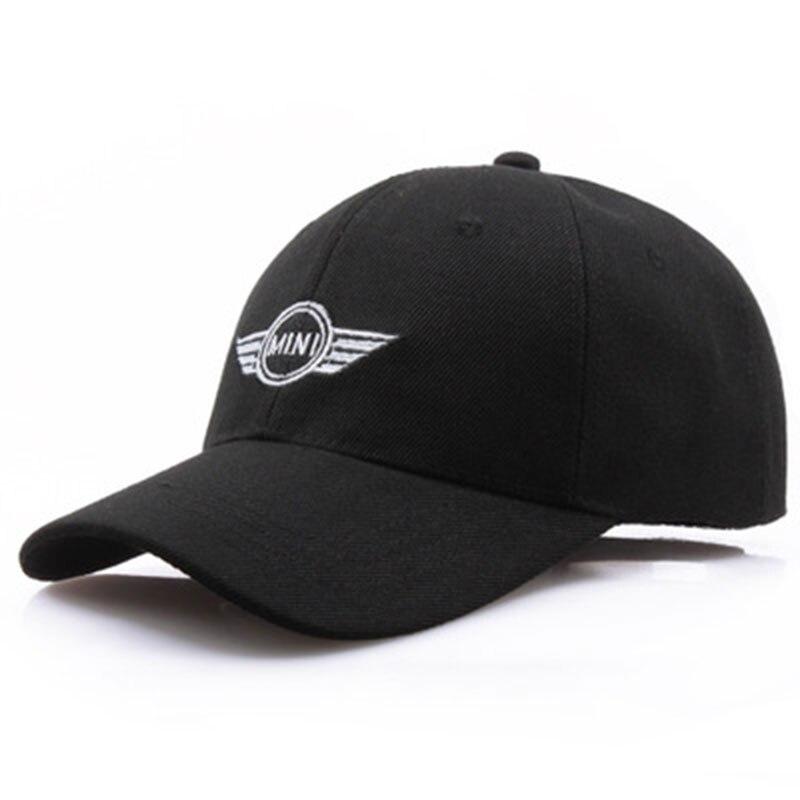 Car Styling Emblem Baseball Cap Hat For BMW mini Accessories Sport Cap yienws full cap hat baseball for boy