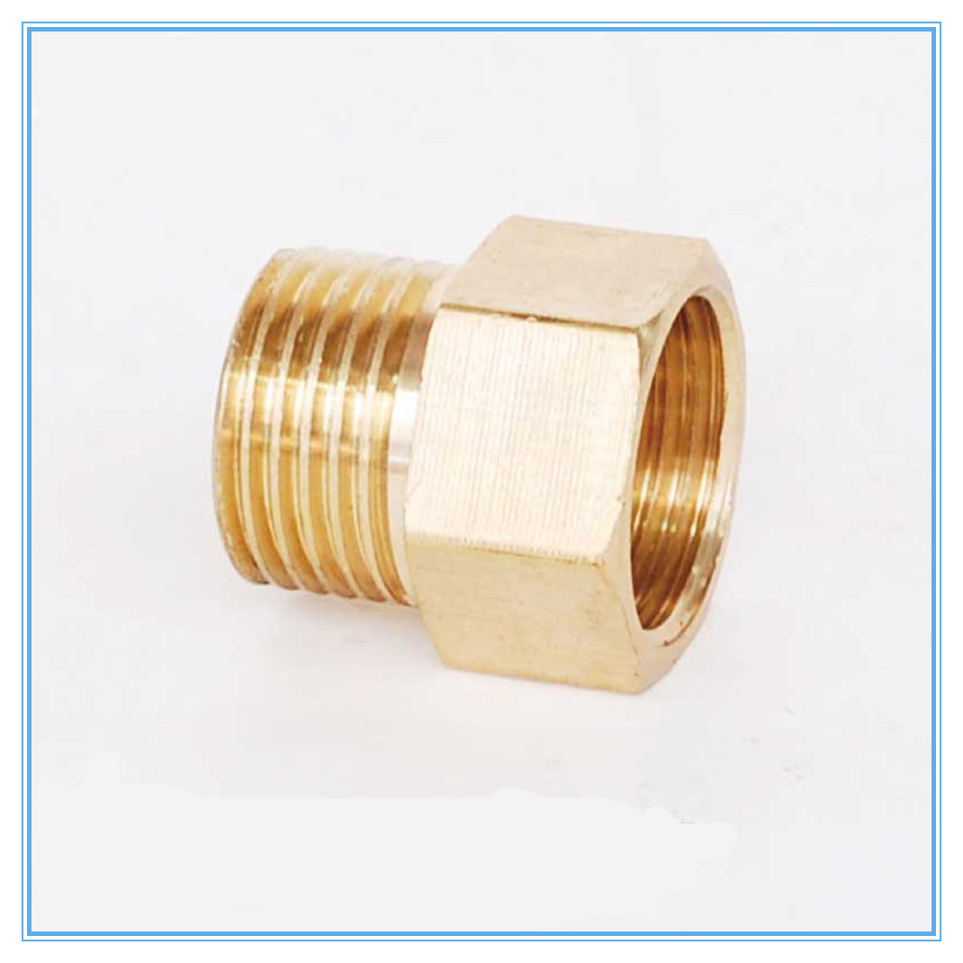M f quot male to female threaded brass