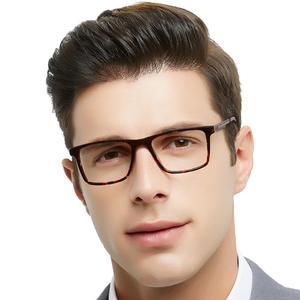 Image 5 - OCCI CHIARI di Alta Qualità Nero Occhiali Da Vista In Metallo Acetato Mens Eyewear Cerniera A Molla Occhiali Ottici Telaio Per Gli Uomini W CARA
