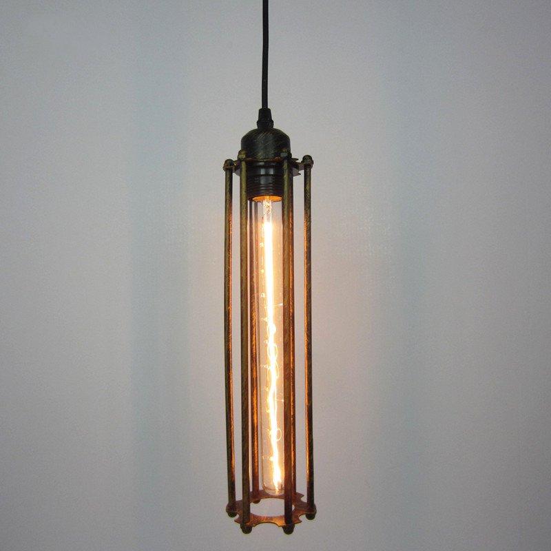 Vintage Country Retro Pendant světla Parní punk Průmyslový styl Jediný hlava s Edison Žárovka Corridor Restaurant Lamps
