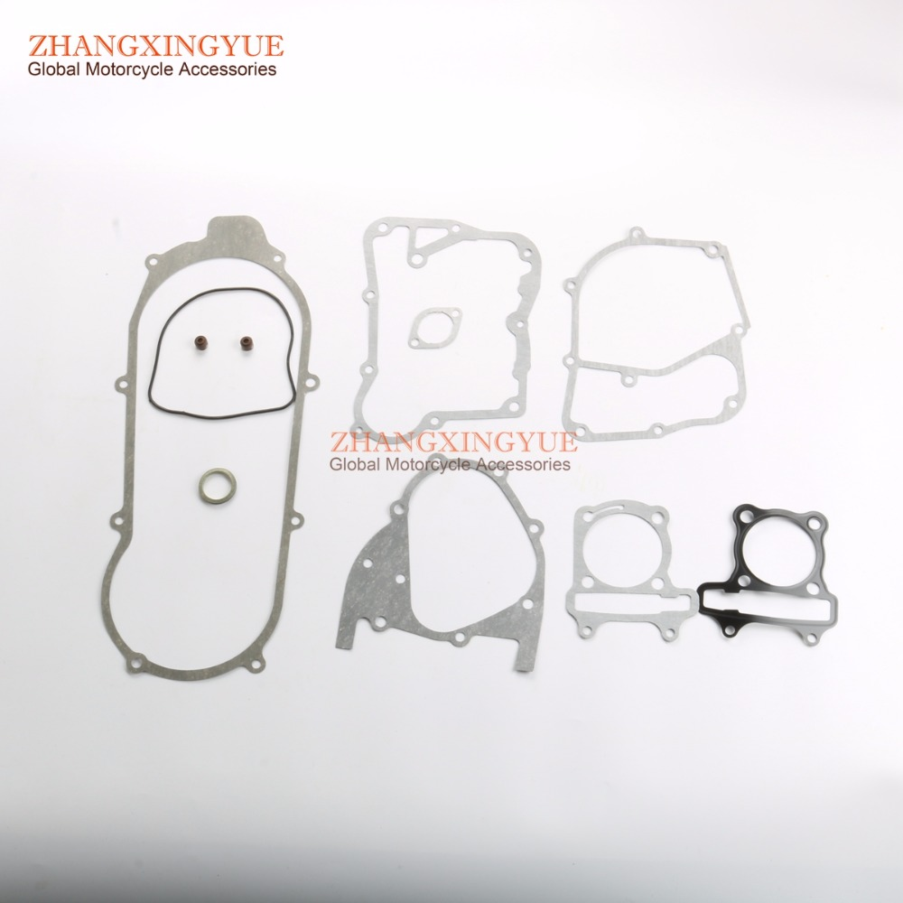 125cc Cylinder Gasket & Engine Gasket For GY6 152QMI 125cc Scooter ATV Karting 52.4mm