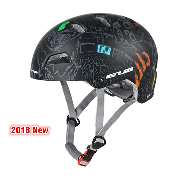 GUB 3 Colors Round Mountain Bike Helmet Men Women Outdoor Skating Safety Helmet