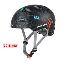 3 kolory okrągły kask na rower górski mężczyźni kobiety Outdoor Skating wspinaczka sporty ekstremalne hełm ochronny wyścigi kaski drogowe 55-61cm tanie tanio (Dorośli) mężczyzn Formowane integralnie kask Approx 280g 16-20 N-GUB-V1 White Red Black Doodling Helmet cycling Capacete Bike Bicicleta Helmet