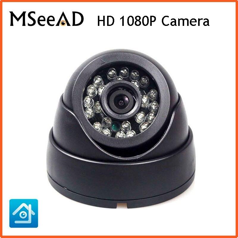 H.264 2MP IP Camera Security IP Camera CCTV Full HD 1080P 2.0 Megapixel Dome Camera IP Cam IR Cut Filter ONVIF 24pcs IR LED security ip camera outdoor h 264 2mp onvif 2 0 cctv full hd 1080p 2 0megapixel dome 2 8mm lens wide angle ir cut filter