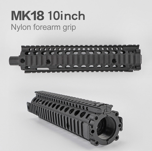 Image 1 - 10 inch Airsoft  MK 18 Nylon Forearm Grip For Most Toy Rifles Screw Cable M4 Refitting Parts Outdoor Hunting Accessory
