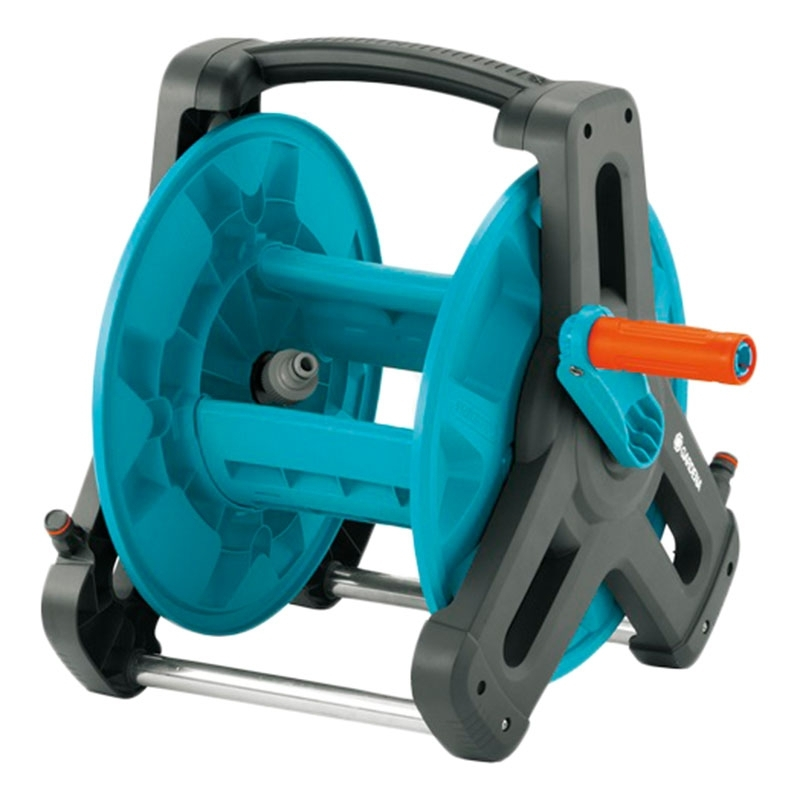 Hose reel GARDENA 08007-20.000.00 (Maximum length of hose reel 19mm-30 m articulated axle protection,