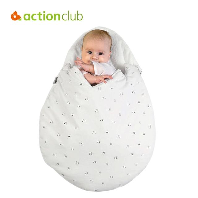 f85677a39ec Actionclub Estilo Bebé Ropa De bebé Recién Nacido Sacos de Dormir Del Bebé  de Huevo Kawaii