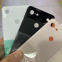 Для Google Pixel 3 XL оригинальное черное заднее стекло Замена для Google 3 XL задняя крышка батареи Замена корпуса+ лента