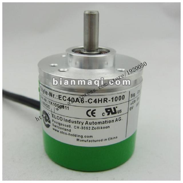Original EC40A6-C4HR-1000 Elco ELCO codificador rotatorio de 1000 líneas