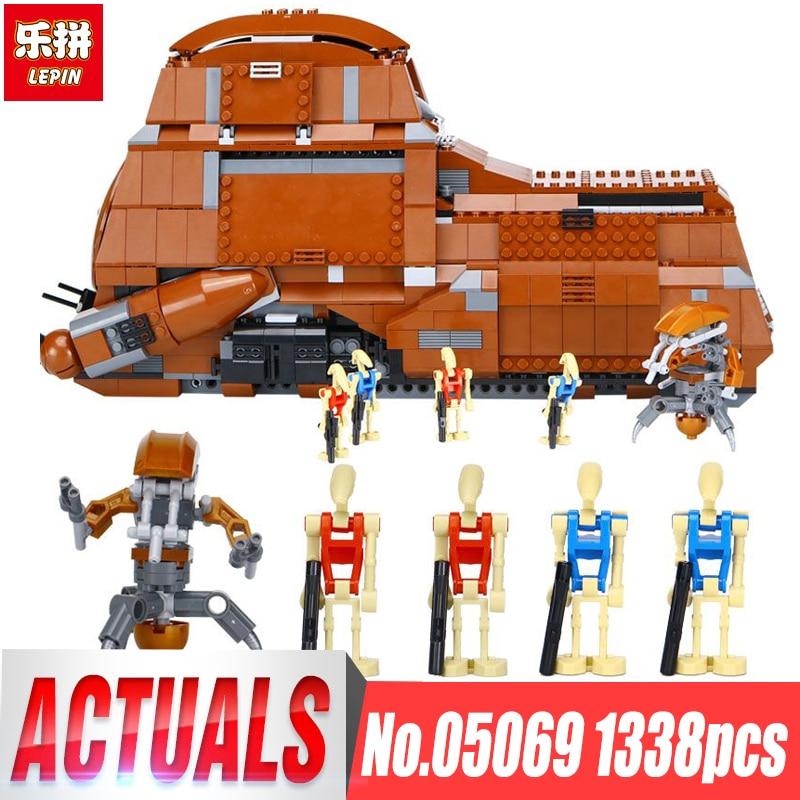 05069 1338Pcs Star Wars classic The Federation MTT