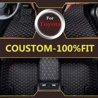 Car Styling Carpet Car Floor Mats For Toyota Crown 12th 13th 14th Generation Car Style