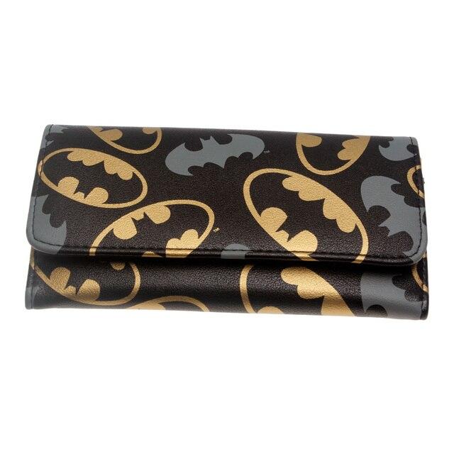 Кошелек Бэтмен черный с эмблемами 3