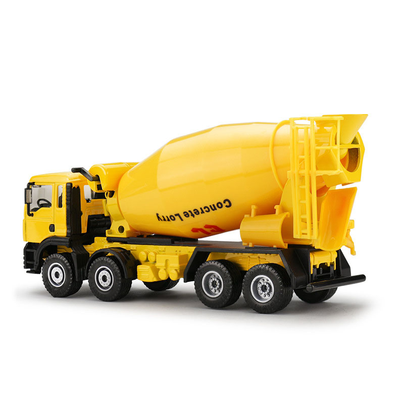 150 scale diecast cement mixer toys car engineering car toys alloy car models mixer truck car model classic toys gifts for kids