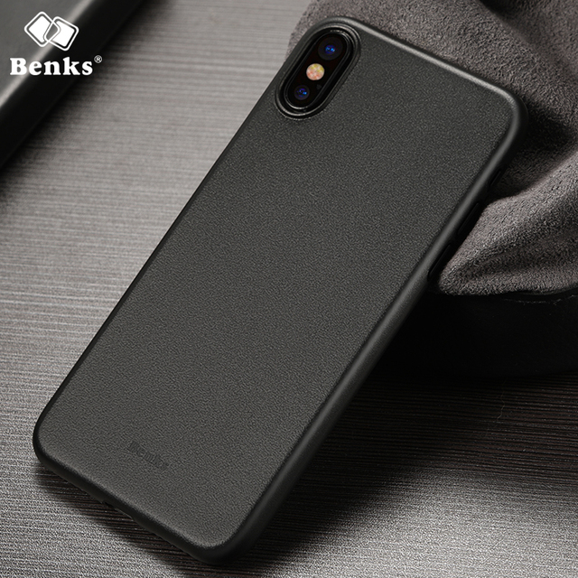 best cheap 46044 1e5d7 US $6.99 |Case For iPhone X Benks LOLLIPOP 0.4mm PP iphoneX Cover High  Quality Mobile Phone Protective Cases back Cover Shell-in Fitted Cases from  ...