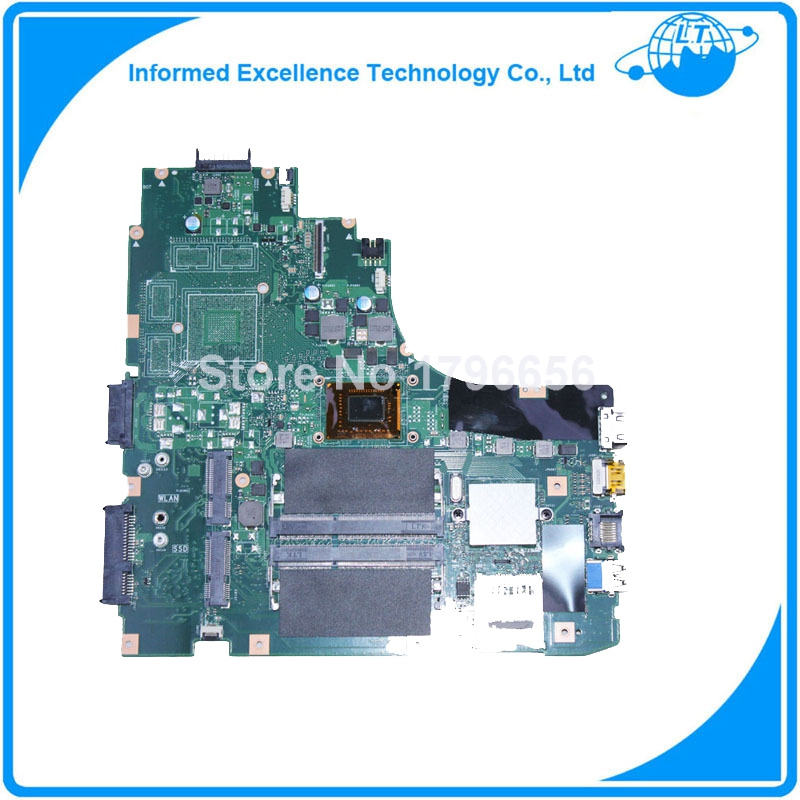 High quanlity For ASUS K46CA Laptop motherboard mainboard With 987 CPU Integrated Graphics 100% tested Free shipping new n56jr laptop motherboard for asus with i7 cpu with high quality