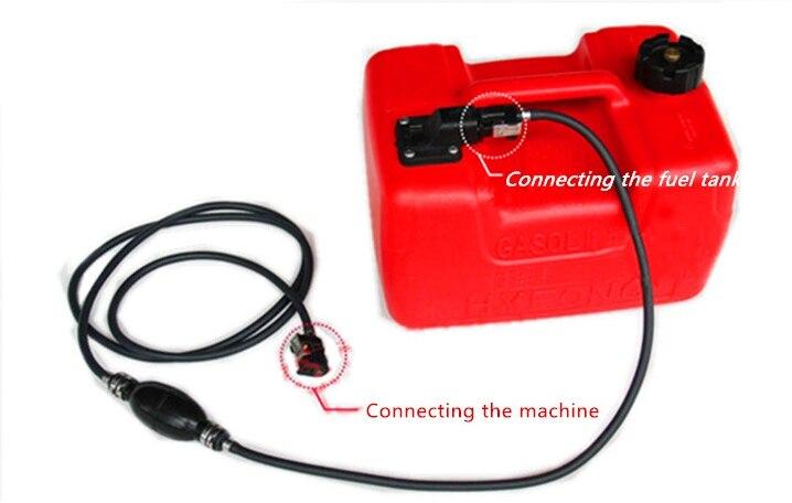 12L BOAT FUEL TANK 11.3 LITRE -with Fuel Cap & Fuel Connector & Fuel Gauge , Boat Motor Parts