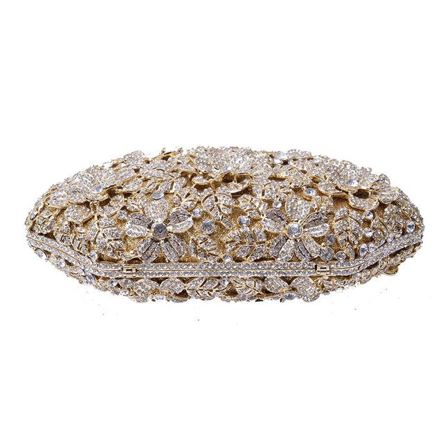 Buy Luxury Women Evening Bag | Party Clutch Rhinestone Evening Bag