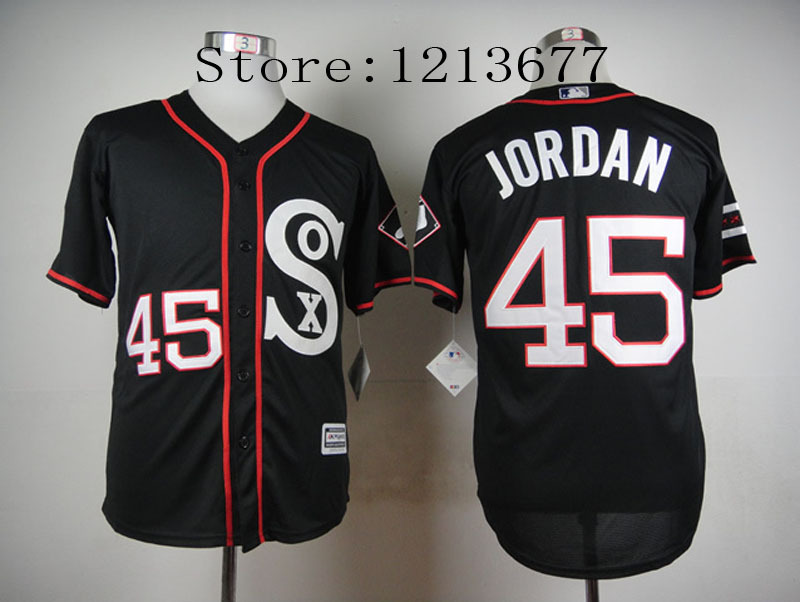 wdxtbd Aliexpress.com : Buy 45 Michael Jordan Jersey Chicago White Sox