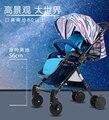 Carrinho de bebê leve e fácil de levar para o guarda-chuva do carro pode sit pode ser dobrado dobrável amortecedores carrinho de bb bebê crianças
