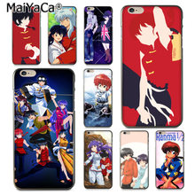 Maiyaca Ranma 1 2 Pencetakan Warna-warni Gambar TPU Phone Case untuk iPhone 8 7 6 6S Plus X 10 5 5S SE 5C Coque Shell(China)