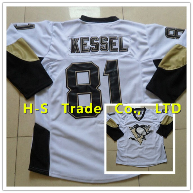 best cheap 608f2 56c7d US $34.88 |NHL Hockey Jersey Pittsburgh Penguins 81 Jerseys White High  Quality Free Shipping-in Hockey Jerseys from Sports & Entertainment on ...
